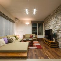 Modern Resort. 61.62坪/43万(全照明・カーテン・家具込)